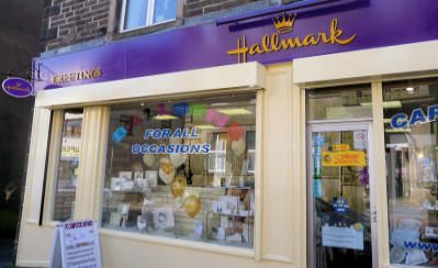 Front Of Hallmark Rossendale